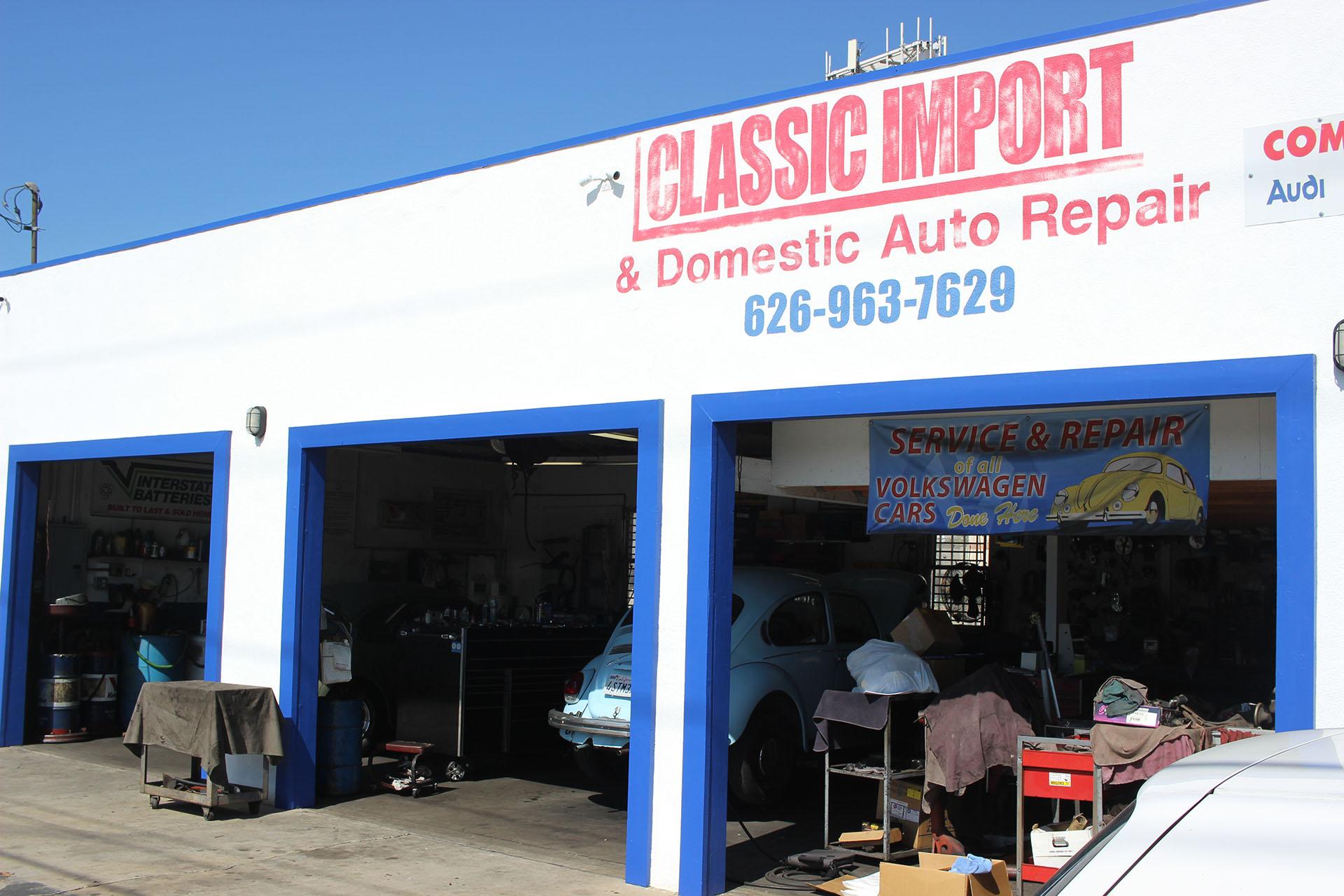 classic import auto repair