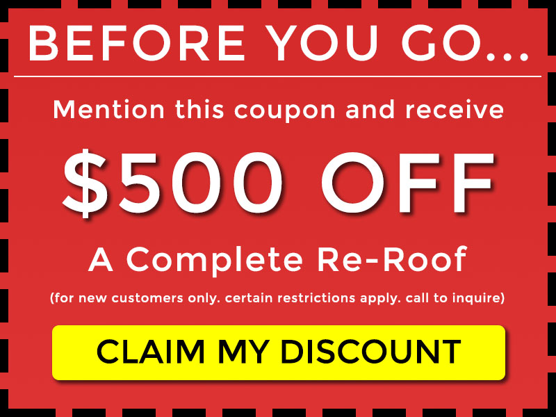 $500 off reroof